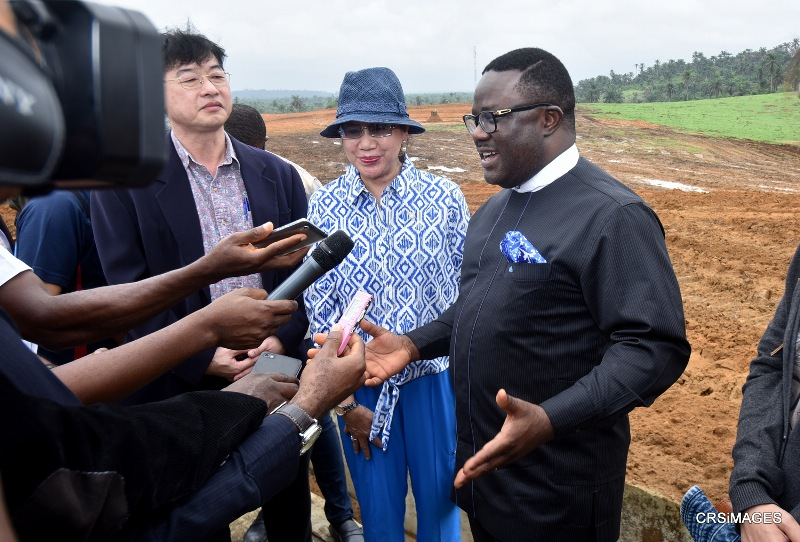 Ahead commissioning, Ayade assures best rice city in Africa