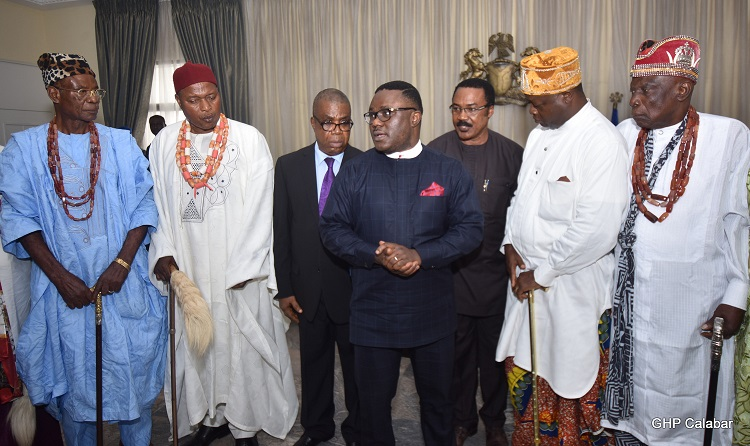 C/River Royal fathers, Elders laud Ayade on developmental strides