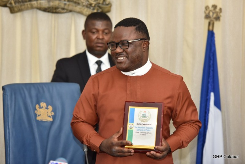 Ayade is World Bank, FG, ThisDay's Best Performing Governor on Health