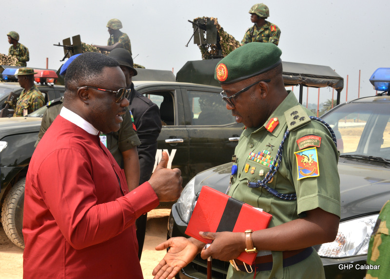 Ayade Donates More Operational Vehicles to Army