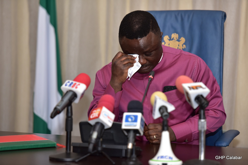 Ayade mourns victims of viewing centre tragedy, orders commission of enquiry