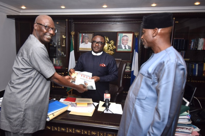 Ayade bags TELL Magazine  Governor of the Year Award