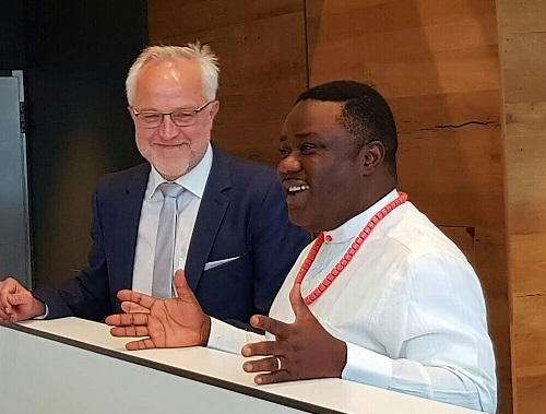 Ex-Nigerian envoy to South Korea commends Ayade for good governance