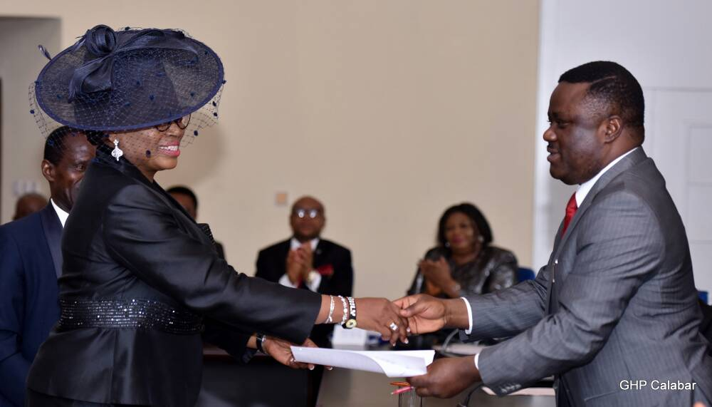 Ayade swears in three High Court judges, charges them not to pervert justice