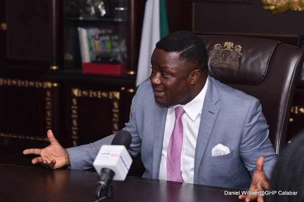 Gov Ayade sets up task force on street light vandalization