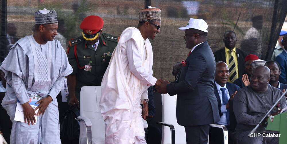 How Ayade's trailblazing project charms Buhari