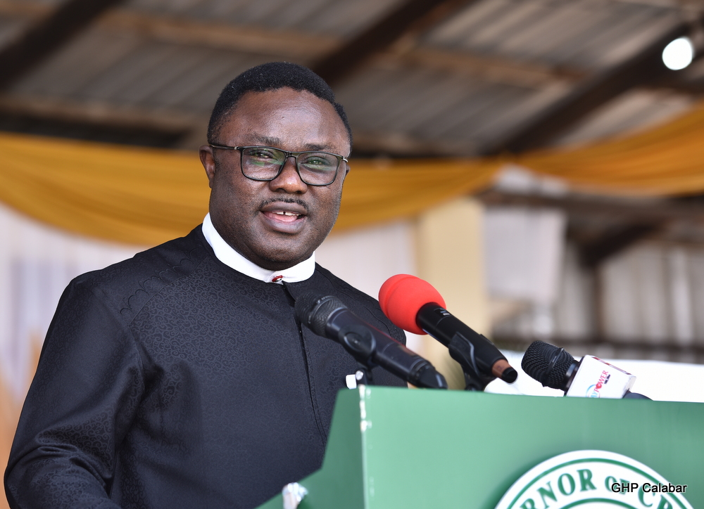 2019: Ayade charges Catholic youths to play greater role in politics