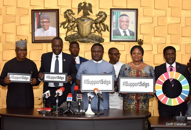 FG commends Ayade for SDGs implementation