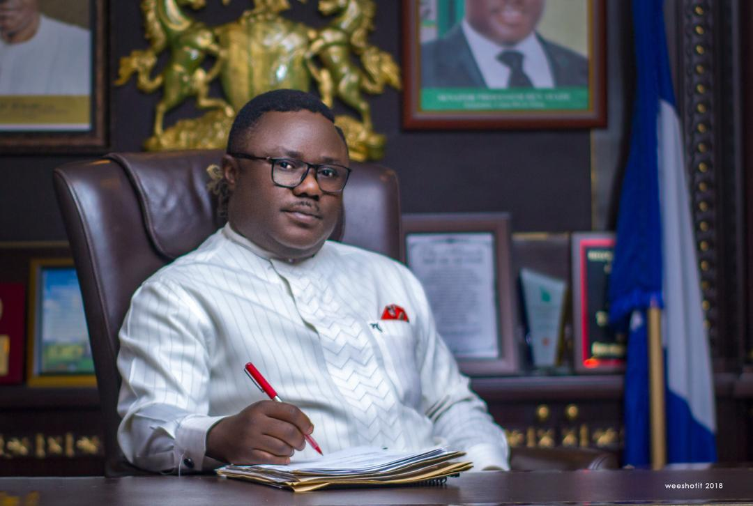 How Ayade paid April and may salary without allocation for April and May