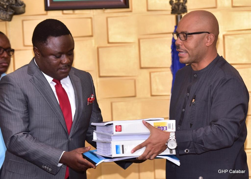 Ayade receives Outline Business Case on Bakassi Deep Seaport … commends Buhari