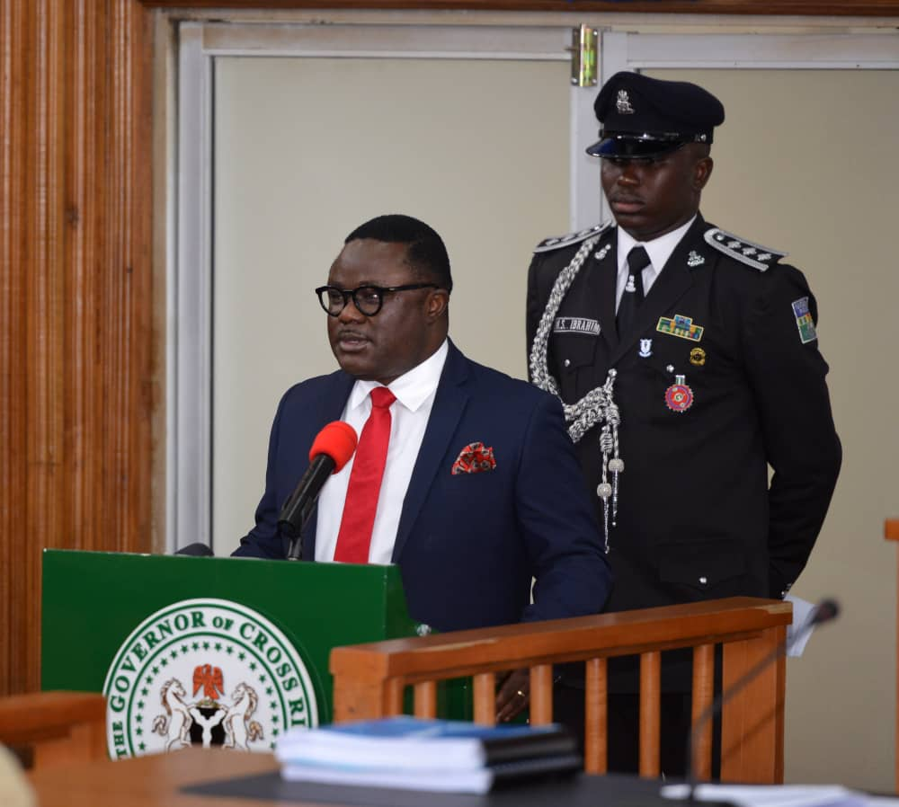 Ayade presents N1.1 trillion budget for 2020
