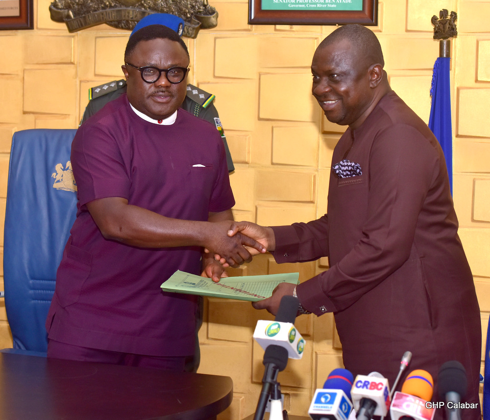 Ayade signs N1.1 trillion 2020 appropriation bill into law