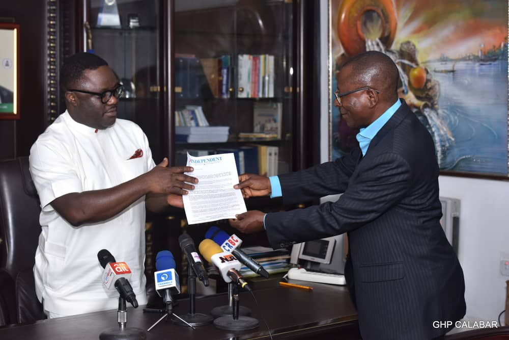 Independent newspaper Gov of the Year award is spur to do more – Ayade