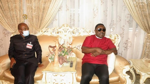 Ayade visits late Sen Oko's family, pays glowing tribute