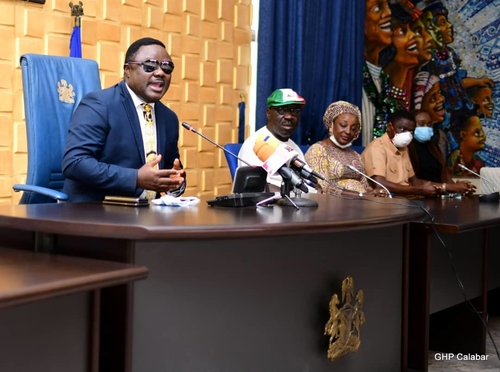 full text of His Excellency, Governor Ben Ayade's broadcast to the state following violence in Calabar on Friday, October 23, 2020