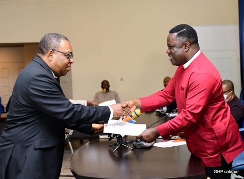 Ayade swears in new Acting Chief Judge, directs setting up of investigation panel into police brutality
