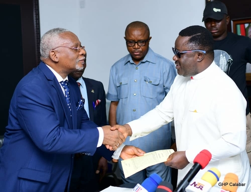 #ENDSARS: Ayade stops tuition in state-owned varsity, orders 20000 employments, sets up judicial panel on police brutality