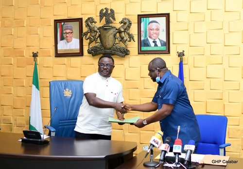 Ayade signs 2021 appropriation bill of N281.9bn into law