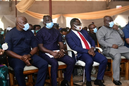 Ayade extols late Ada Bekwara, donates N30 million for church completion