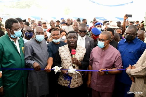 Ayade commissions Construction and Fabrication Academy for skilled manpower training