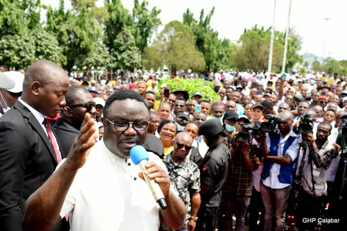 Cross River Council chairmen rally for Ayade over industrialisation, infrastructure, human capital development