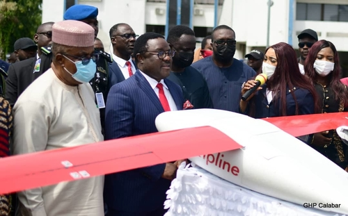 Ayade deploys drones for medical supplies to hard to reach areas