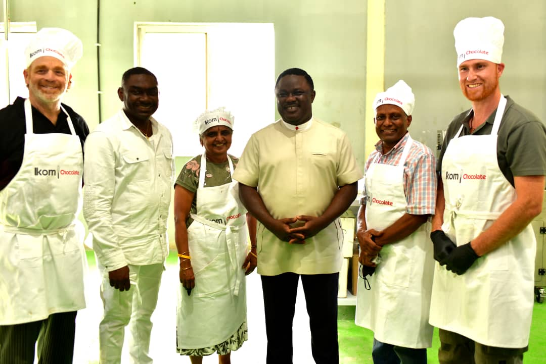 Excitement as Cross River cocoa processing factory begins chocolate production