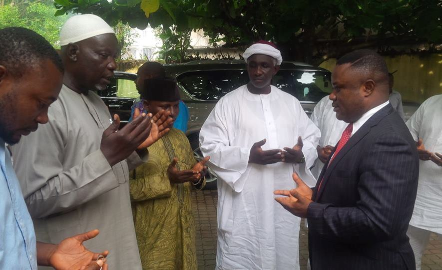 Ayade harps on peace and oneness at Eid el-fitr