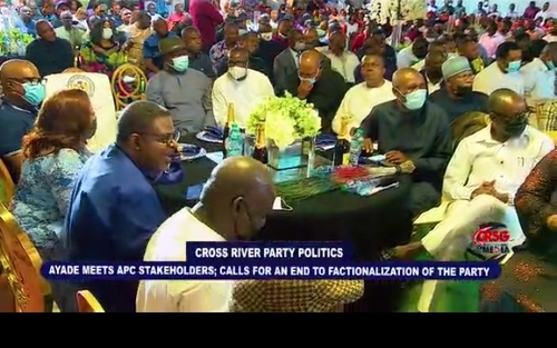 Ayade reconciles Cross River APC chieftains, urges end to disunity